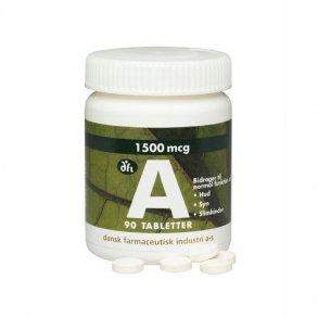 A-Vitamin og Betacaroten