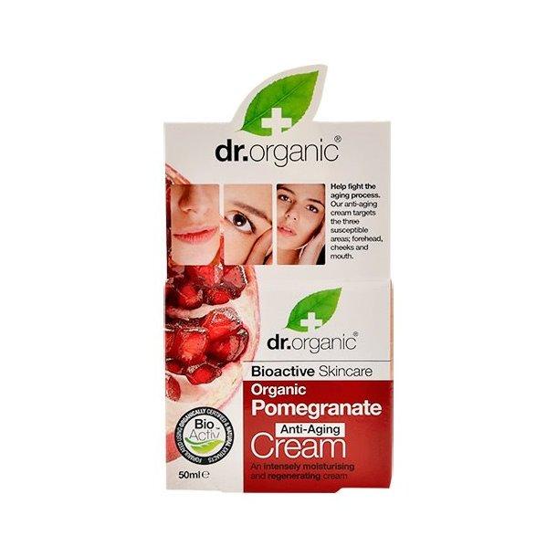 Dr. Organic | Dagcreme | Økologisk | creme | fugt | rynker | anti age | granatæble | (Kopi)