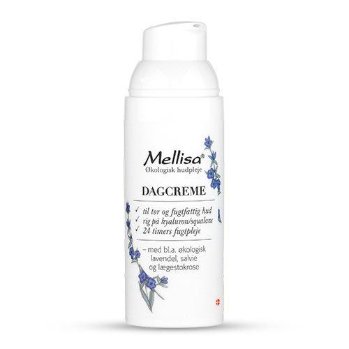 Mellisa Dagcreme med Lavendel økologisk- 50 ML luksus dagcreme til tør hud