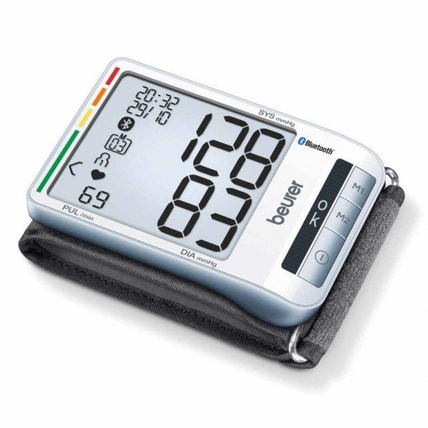 Beurer BC 85 - Blodtryksmåler til håndled med Bluetooth - Ekstra slimline model