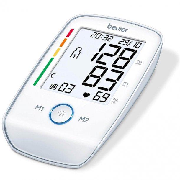 Beurer BM 45 - Blodtryksmåler til overarm - Stort XL display