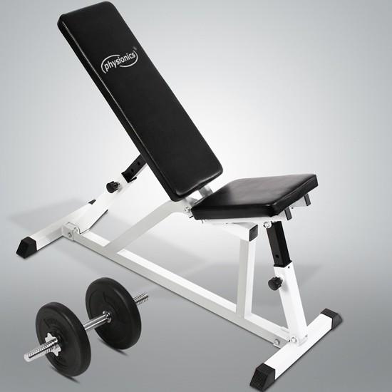Physionics® Træningsbænk | træning | mavetræning | mave | træne | muskeltræning | muskel ...