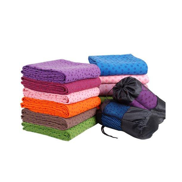 b19a470b1c6 Yogahåndklæder med skridsikker overflade | yoga | yogaudstyr ...