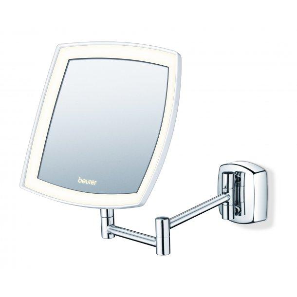 Forskellige Kosmetikspejl til væggen | forstørrelse | LED lys | 5 gange BP82