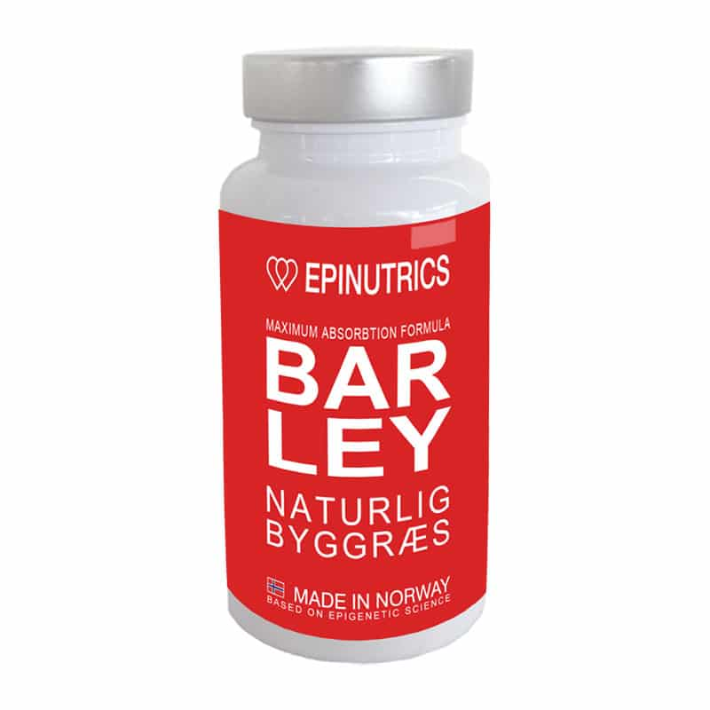 Epinutrics BARLEY - 60 kapsler