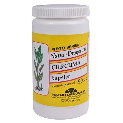 Køb Natur Drogeriets Curcuma kapsler med gurkemeje.