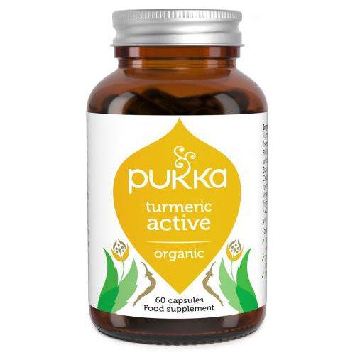 Turmeric Active kapsler. Økologisk kosttilskud med gurkemeje og boswellia.
