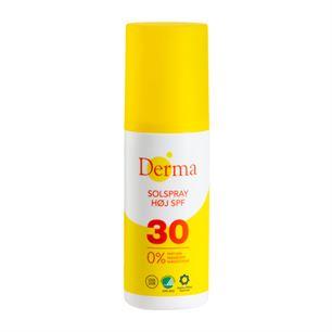 Derma Sollotion SPF 50 er Svanemærket og Astma-Allergi-mærket og fri for parfume