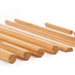 Bambusstave og Massagestave