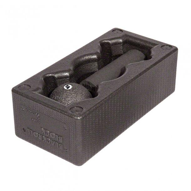 Gymnic - Blackroll Blok sæt - tredelt, 1 Blackroll blok, 1 Blackroll mini og 1 Blackroll bold 8 cm