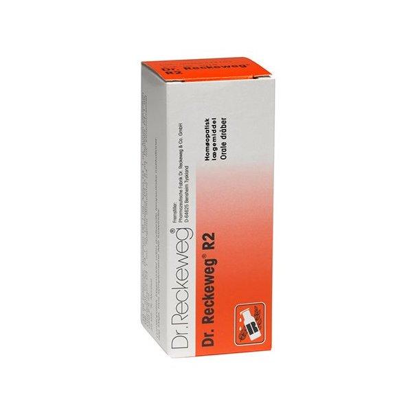 Dr Reckeweg R 2 Orale Dråber 50 Ml Homøopatisk Lægemiddel