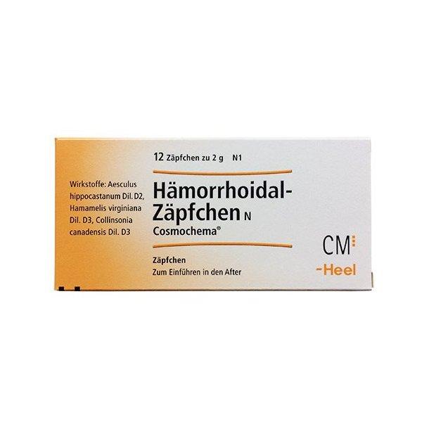 Hæmorrhoidal Stikpille Er Et Homøopatisk Lægemiddel