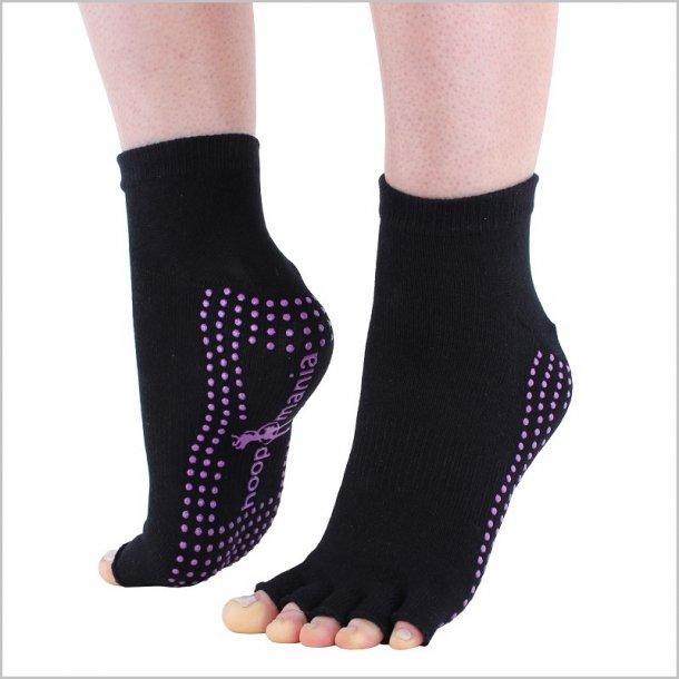 Hoopomania Half Toe Yoga socks - str. M